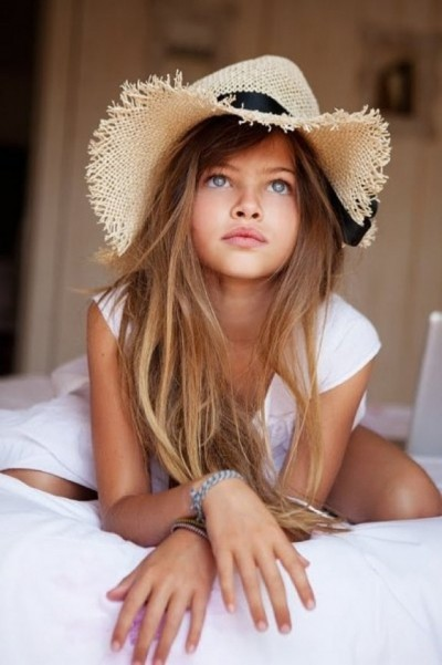 Model Thylane Blondeau